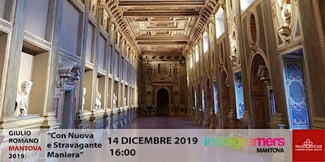 Instameet mostra Con nuova e stravagante maniera. Giulio Romano a Mantova biglietti