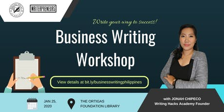 Business Writing Seminar for Professionals tickets
