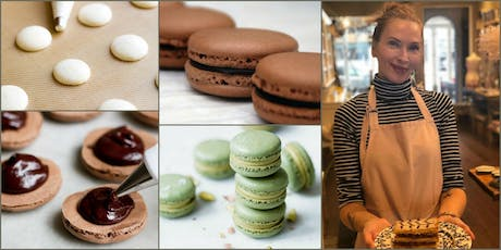 Romantic French Macarons, with Tess Kelly  tickets