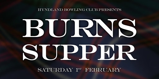 Hyndland Burns Supper