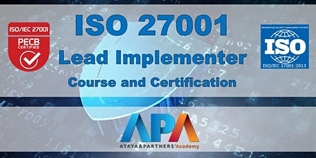 ISO 27001 Lead Implementer Course & Certification tickets