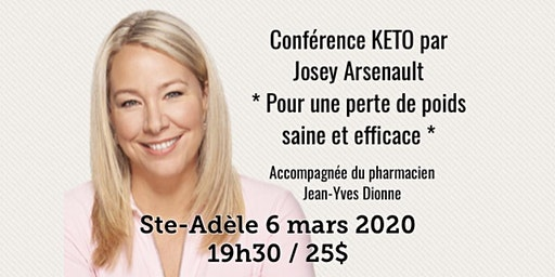 STE-ADÈLE - Conférence KETO Pour une perte de poids saine et efficace! 25$