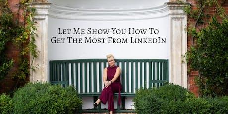 LinkedIn Masterclass with Samantha Cameron tickets