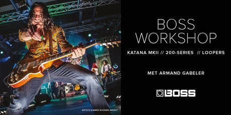 BOSS Workshop met Armand Gabeler tickets