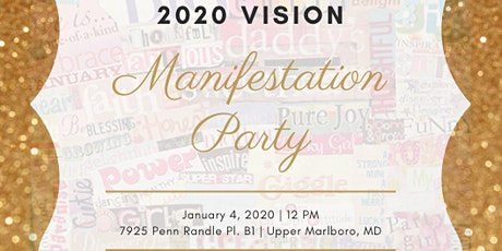 2020 Vision Manifestation Party tickets