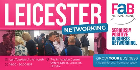 FaB Networking with FindaBiz Leicester tickets