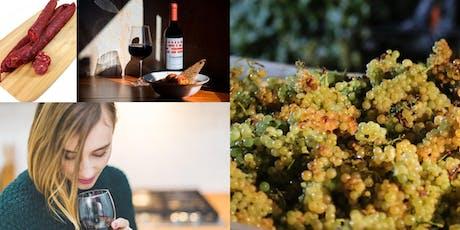 Spainsh Wine Tasting (4 Wines + 4 Tapas) tickets
