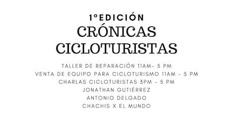 Crónicas cicloviajeras 1° ed. entradas