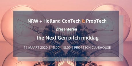 NRW Next Gen pitch middag tickets