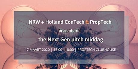 NRW Next Gen pitch middag tickets