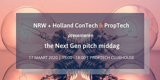 NRW Next Gen pitch middag