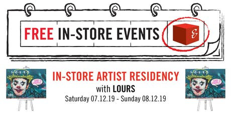 In-Store Artist Residency with LOURS tickets