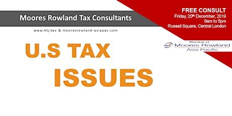 U.S  Tax Issues tickets
