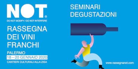 NOT 2020 > L'ITALIA DI VINO IN VINO. ITINERARI A PIEDI E IN BICI biglietti