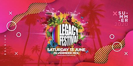 Legacy Festival Belgium 2020 tickets