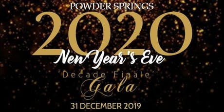 Annual Powder Springs 2020 New Year's Eve Gala! tickets