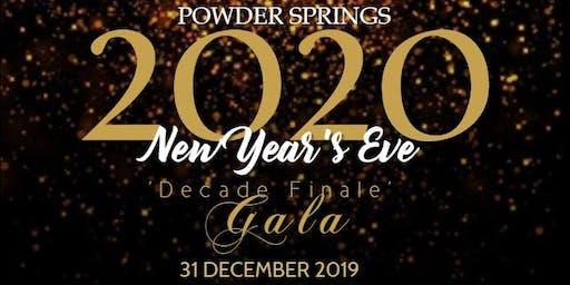 Annual Powder Springs 2020 New Year's Eve Gala!
