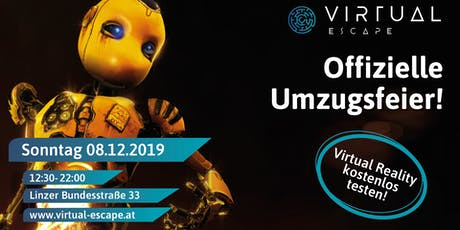 Virtual Reality Event in Salzburg | Umzugsfeier Virtual Escape Tickets