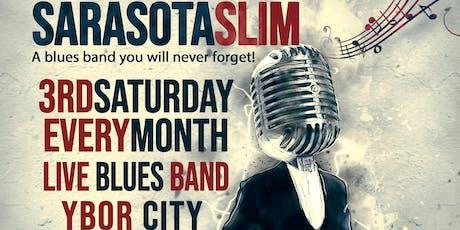 Live Blues with Sarasota Slim tickets