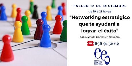 """""""Networking estratégico que te ayudará a lograr el éxito"""" entradas"""