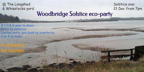 Woodbridge Solstice eco-party tickets