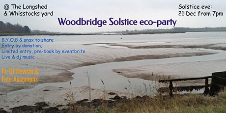 Woodbridge Solstice eco-party tickets