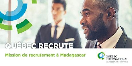 Mission de recrutement à Madagascar billets