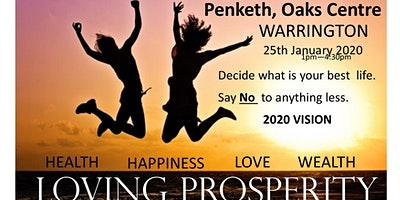 Loving Prosperity 2020 Vision Workshop Warrington