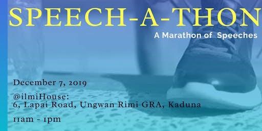 Speech-A-Thon : A Marathon of Speeches