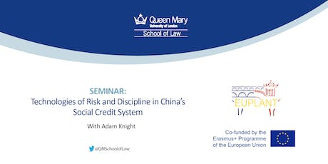Technologies of Risk and Discipline in China's Social Credit System tickets