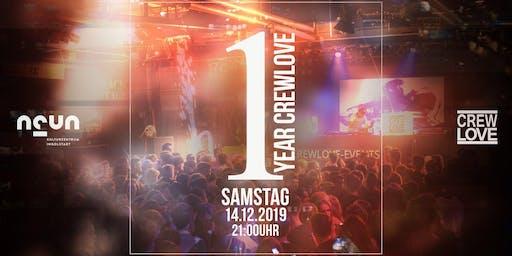1 YEAR CrewLove Birthday | Ingolstadt Halle9