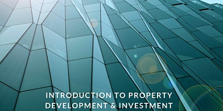 Introduction to Property Development & Investment tickets