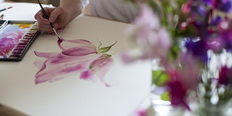 Wellness and Creative Watercolour Workshop tickets