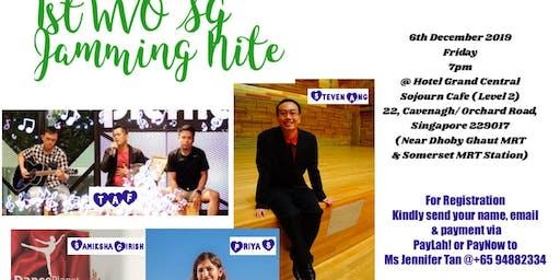 1st Wvo Sg Jamming Nite 新加坡wvo 音乐晚会