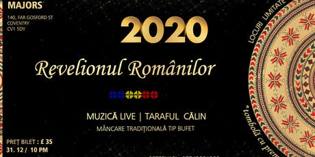 Revelionul Romanilor 2020 | Coventry tickets
