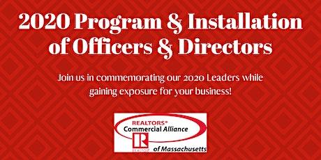 2020 Program & Installation of Officers & Directors tickets