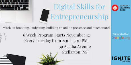 Digital Skills for Entrepreneurs tickets