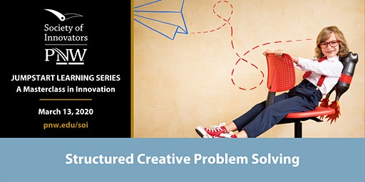 Jumpstart Innovation Masterclass Series #2: Creative Problem Solving