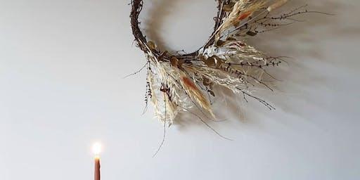 Festive Wreath Workshop at treen