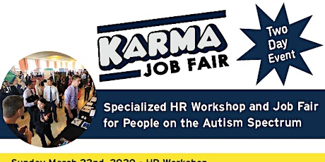 Karma HR Workshop & Job Fair for People Living with Autism tickets