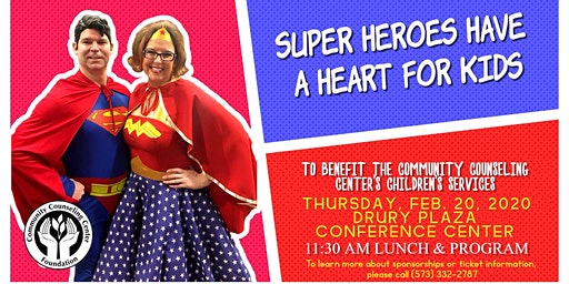 Super Heroes Have a Heart for Children