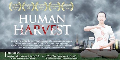 """Film screening """"Human Harvest"""" & International Human Rights Event (En/Vi)"""