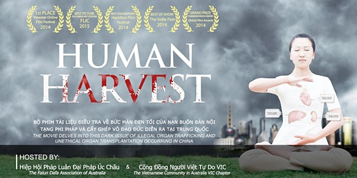 "Film screening ""Human Harvest"" & International Human Rights Event (En/Vi)"