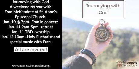 Journeying With God Weekend Retreat at St. Anne's Episcopal Church tickets