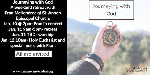 Journeying With God Weekend Retreat at St. Anne's Episcopal Church