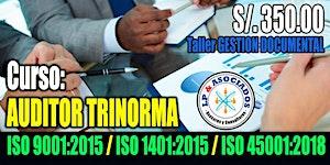Auditor Interno Trinorma: ISO 9001:2015, ISO...