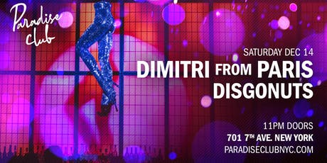 Dimitri from Paris / Disgonuts tickets