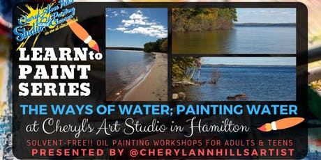 Ways of Water, Paint a Water Scene tickets