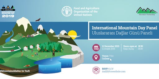 Uluslararası Dağlar Günü Paneli // International Mountain Day Panel