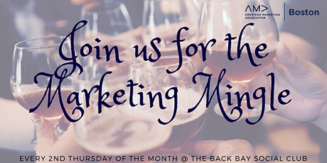 American Marketing Association Boston's Marketing Mingle 2020 tickets